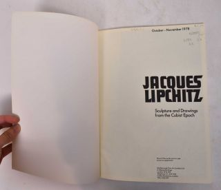 Jacques Lipchitz - Sculpture and Drawings from the Cubist Epoch