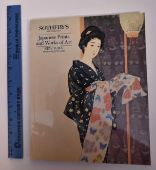 Japanese Prints and Works of Art. Sotheby's.