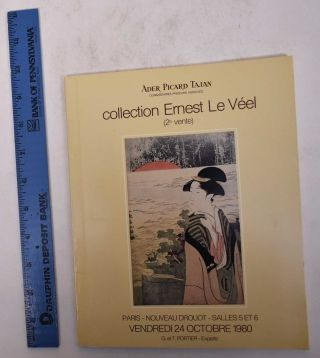 Collection Ernest Le Veel: Estampes Japonaises et Chinoises (2e Vente
