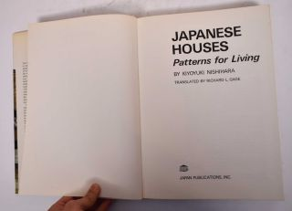 Japanese Houses: Patterns for Living
