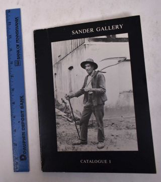 Catalogue I: 20th Century Photography. Sander Gallery