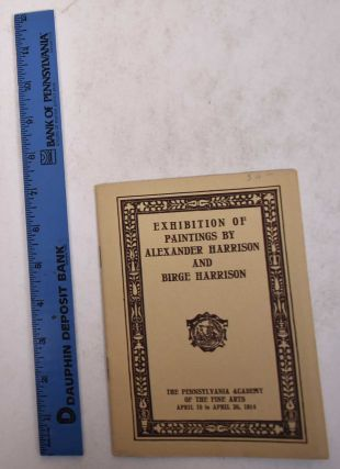 Catalogue of paintings by Alexander Harrison and Birge Harrison
