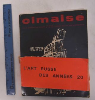 Cimaise: Art et Architecture Actuels / Present Day Art and Architecture