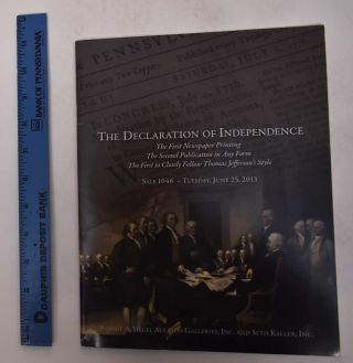 The Declaration of Independence [Sale 1046]. Robert A. Siegel Auction Galleries