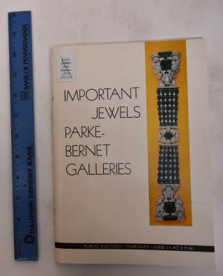 Important Jewels: A Highly Important Collection of Emerald Jewels & Other Fine Jewelry....
