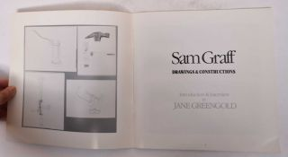 Sam Graff: Drawings & Constructions/What I Know About Sam: A Fictional Installation