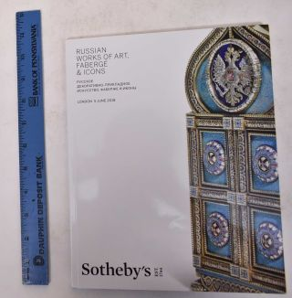 Russian Works of Art, Faberge & Icons. Sotheby's