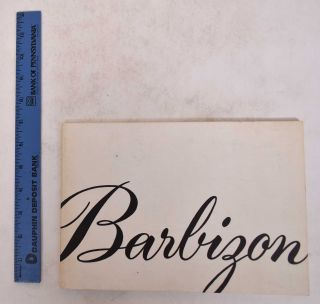 Barbizon: First Anniversary Exhibition of Lakeview Center