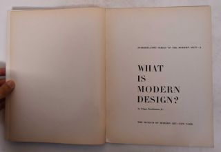 What is Modern Design? : Introductory Series to the Modern Arts 3