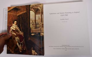 Upholsterers & Interior Furnishing in England 1530-1840