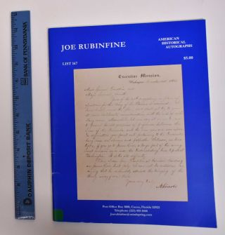 American Historical Autographs: List 167