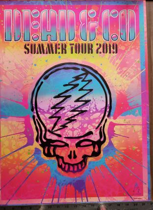 Dead and Company - 2019 - Tour Poster, Blacklight. Kii Arens