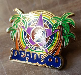 Dead and Company - 2019 - Tour Pin - Hollywood Bowl