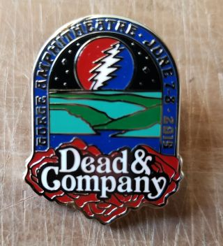 Dead and Company - 2019 - Tour Pin - Gorge Amphitheater