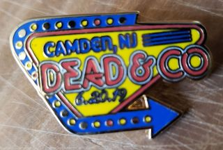 Dead and Company - 2019 - Tour Pin - BB&T Center, Camden, NJ