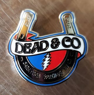 Dead and Company - 2019 - Tour Pin - SPAC (Saratoga Performing Arts Center