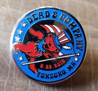 Dead and Company - 2019 - Tour Pin - Foxboro, MA (Gillette Stadium