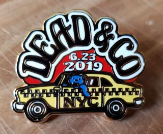 Dead and Company - 2019 - Tour Pin - Citi Field (New York City