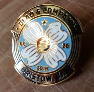 Dead and Company - 2019 - Tour Pin - Jiffy Lube Center (Bristow, VA