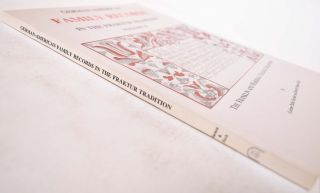 German-American Family Records in the Fraktur Tradition, Volume II
