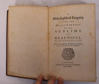 A Philosophical Enquiry into the Origin of our Ideas of the Sublime and Beautiful,The Seventh...