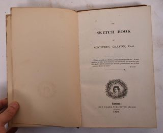 The Sketch Book of Geoffrey Crayon, Gent. Geoffey Gent Crayon, Washington Irving
