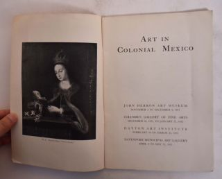 Art in Colonial Mexico
