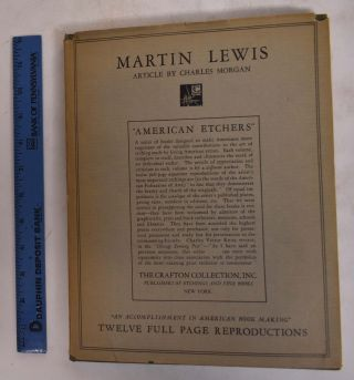 American Etchers, Vol XI; Martin Lewis. Crafton Collection