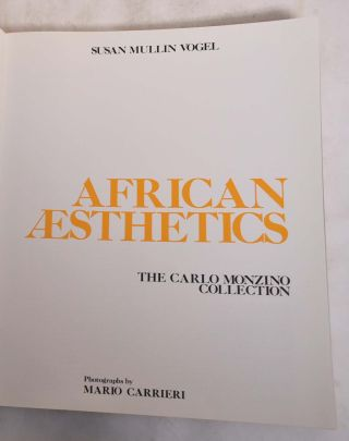 African Aesthetics: The Carlo Monzino Collection