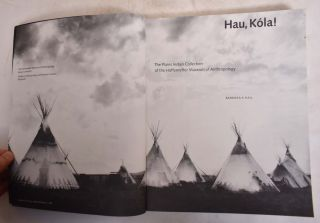 Hau, Kola!: The Plains Indian Collection of the Haffenreffer Museum of Anthropology