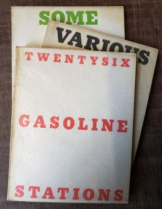 TWENTYSIX GASOLINE STATIONS (with) VARIOUS SMALL FIRES AND MILK (with) SOME LOS ANGELES...