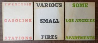 TWENTYSIX GASOLINE STATIONS (with) VARIOUS SMALL FIRES AND MILK (with) SOME LOS ANGELES APARTMENTS