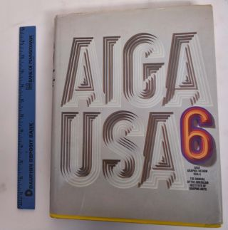 AIGA Graphic Design USA, 6: The Annual Of The American Insitute Of Graphic Arts. David Brown