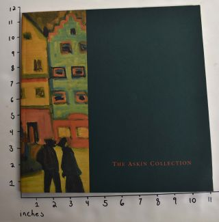 The Askin Collection: Paintings, Sculpture, Pastels and Watercolors from the Estate of Mr. and...