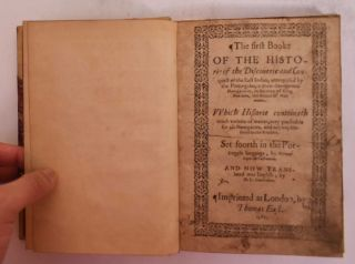 The first booke of the historie of the discouerie and conquest of the East Indias, enterprised by...