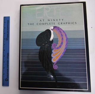 Erte: At Ninety, The Complete Graphics. Marshall Lee