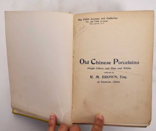 Collection of Chinese Porcelain Auction Catalogues, 18 bound in 1 volume