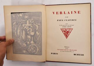 Verlaine. Paul Claudel