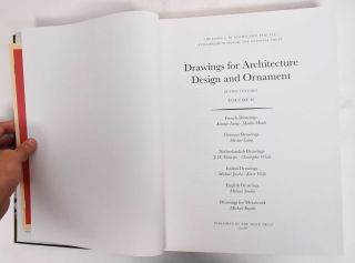 Drawings for Architecture Design and Ornament, Volume I and II (The James A. De Rothschild Bequest at Waddesdon Manor)