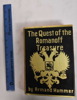 The Quest of the Romanoff Treasure. Armand Hammer