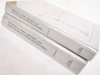 Netsuke & Inro Artists, and How to Read Their Signatures (2 volumes). George Lazarnick
