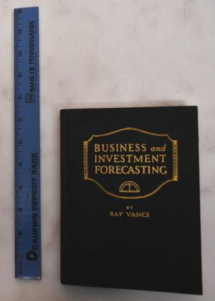Business and investment forecasting: forecasting methods and their application in practical use....