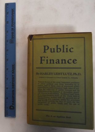 Public Finance. Harley L. Lutz