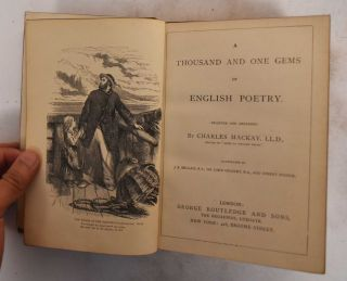 A Thousand and One Gems of English Poetry. Charles Mackay