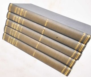 The Financial Policy of Corporations, Volumes 1-5. Arthur S. Dewing