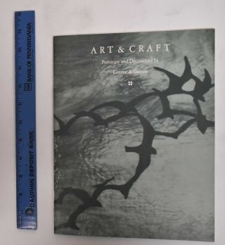 Art & craft: furniture and decorations by Greene & Greene. Arts, Crafts Shop