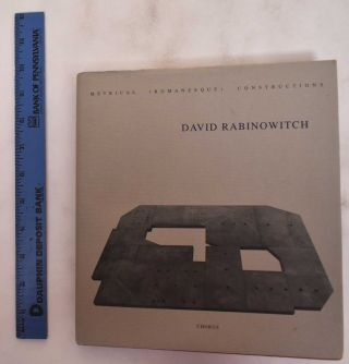 David Rabinowitch: Metrical (Romanesque) Constructions. David Rabinowitch, ed Klaus Bussmann