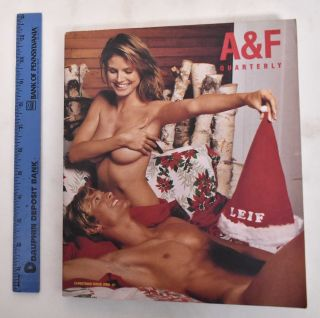 Abercrombie and Fitch - Christmas issue - 2002