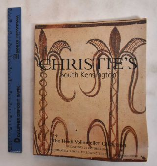 The Heidi Vollmoeller Collection, Wednesday 29 October 2003. Christie's South Kensington
