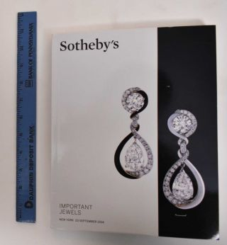 Important Jewels - Sale NO9199. Sotheby's, Firm